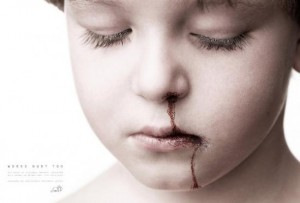 Child victim of violence